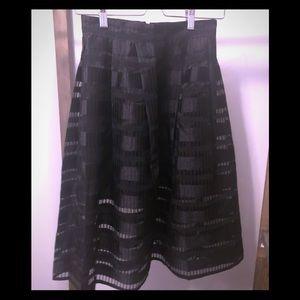 High Waisted Gauzy Party Skirt